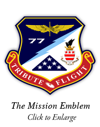Tribute Flight Crest